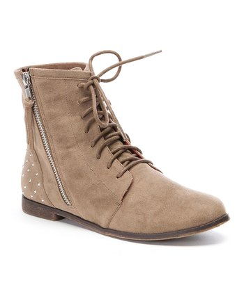 Tan Lander Ankle Boot