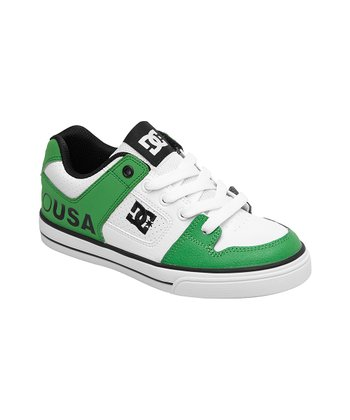 Green & White 'USA' Pure Sneaker