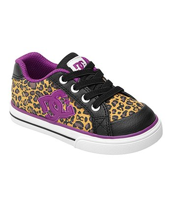 Black & Purple Chelsea Sneaker