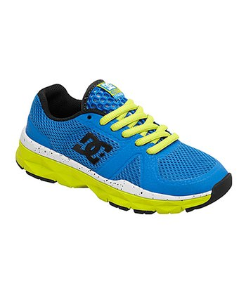 Blue & Neon Yellow Unilite Trainer Sneaker