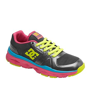 Charcoal & Neon Yellow Unilite Trainer Sneaker