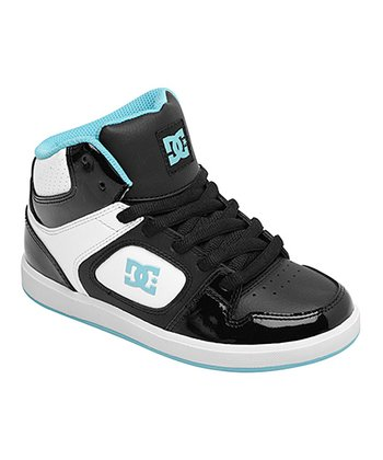 Black & Turquoise Union SE Hi-Top Sneaker