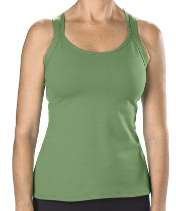 Grass Double Cross Tank - Women