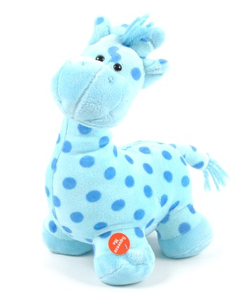 Blue Patty Cake Giraffe