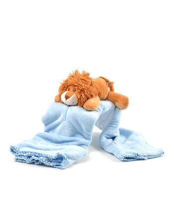 Jungle Lion Plush Toy & Blanket Set