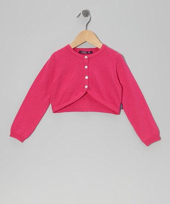 Super Pink Bolero - Infant, Toddler & Girls