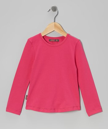 Super Pink Long-Sleeve Tee - Infant, Toddler & Girls