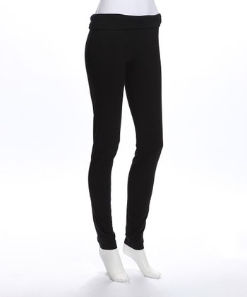 e.m.etc Black Maternity Leggings