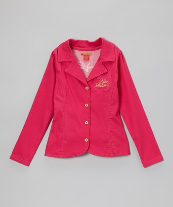 Magenta Blazer - Toddler & Girls
