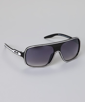 Black Stripe Sunglasses