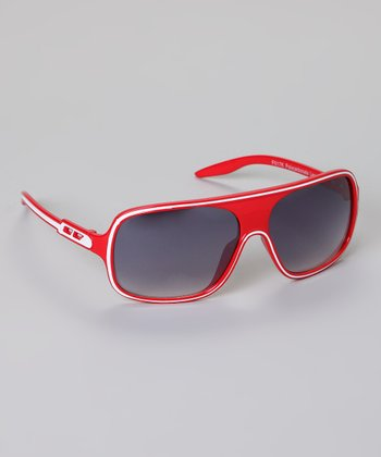 Red Stripe Sunglasses
