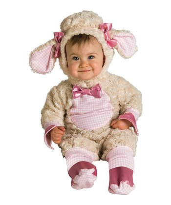 Pink Lucky Lil' Lamb Dress-Up Set - Infant