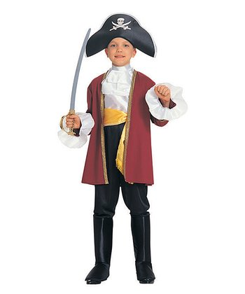 Burgundy Swashbuckler Dress-Up Set - Toddler & Boys
