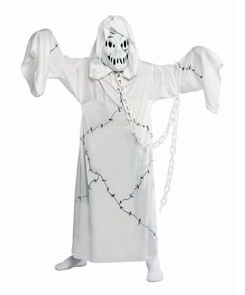 White Ghoul Dress-Up Set - Kids
