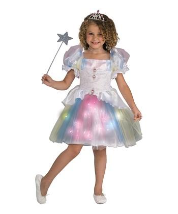 Rubie's Blue & Pink Ballerina Light-Up Dress - Girls