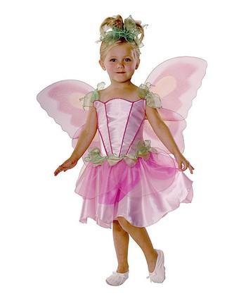 Rubie's Purple & Green Spring Fairy Dress-Up Set - Toddler & Girls