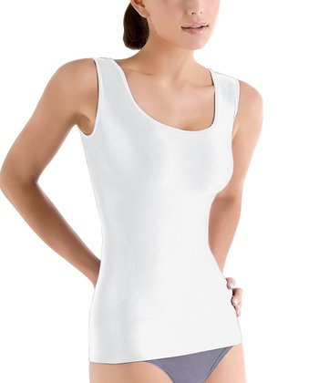 White Seamless Shaper Tank - Women & Plus