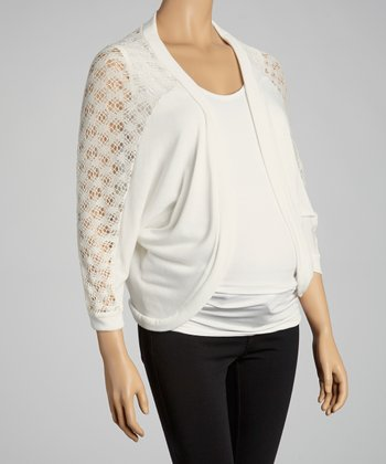 Pearl Maternity Open Cardigan - Women