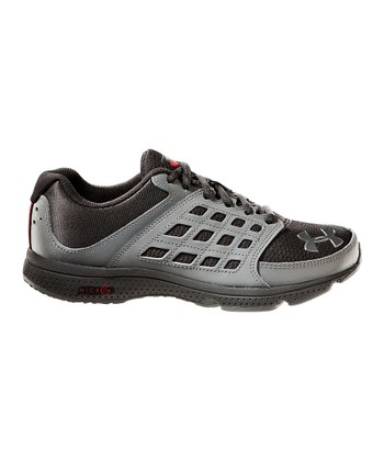Black UA Connect Grade School Running Shoe