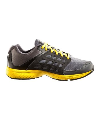 Graphite UA Connect Grade School Running Shoe