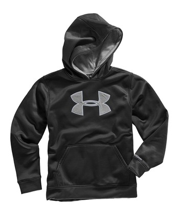 Black Armour® Fleece Storm Big Logo Hoodie - Boys