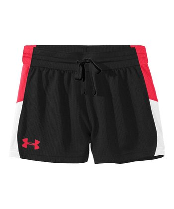 Black Intensity 3'' Shorts - Girls