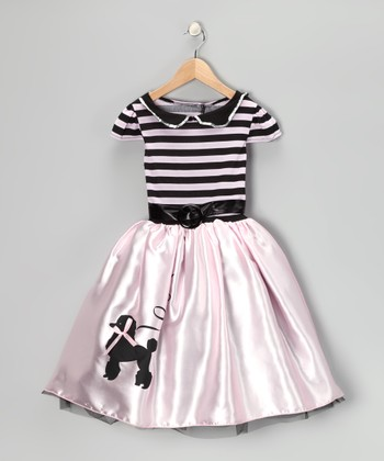 Pink Poodle Dress - Toddler & Girls