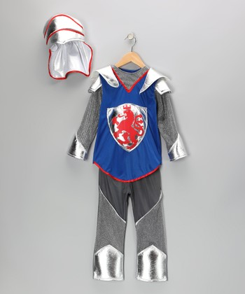 Silver & Royal Blue Knight Dress-Up Set - Toddler & Kids