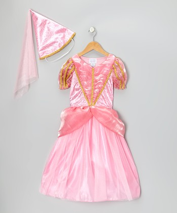 Pink Princess Dress & Hat - Girls
