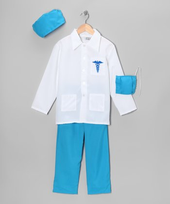Blue Doctor Dress-Up Set - Toddler & Boys