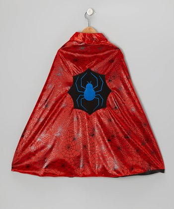 Red Spider & Bat Reversible Cape