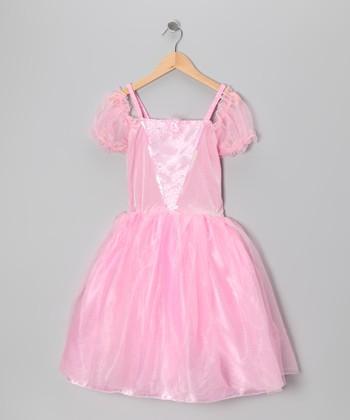 Pink Tea Party Princess Dress - Toddler & Girls