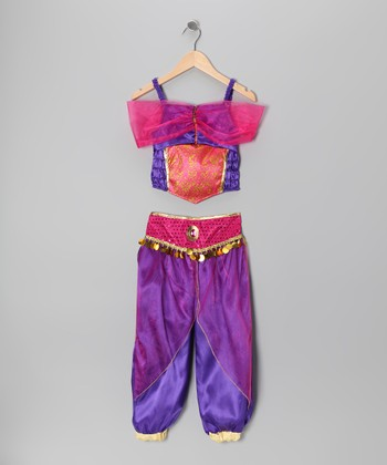 Purple Princess Dress-Up Set - Toddler & Girls