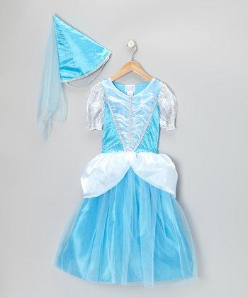 Classic Blue Princess Dress-Up Set - Girls