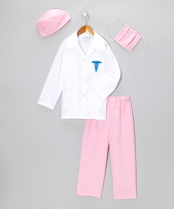 Pink Doctor Dress-Up Set - Toddler & Girls