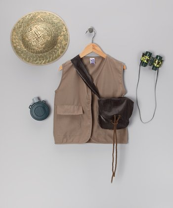 Brown Explorer Accessories Dress-Up Set