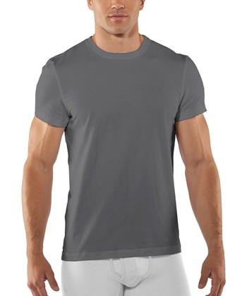 Graphite Charged Cotton® Crew Undershirt - Men & Tall