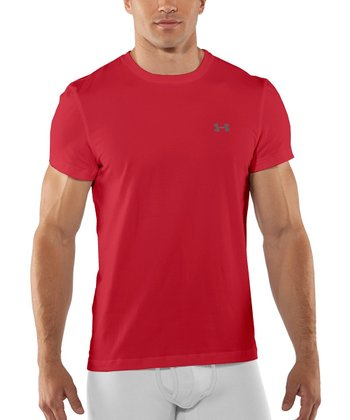 Red Charged Cotton® Crew Undershirt - Men & Tall