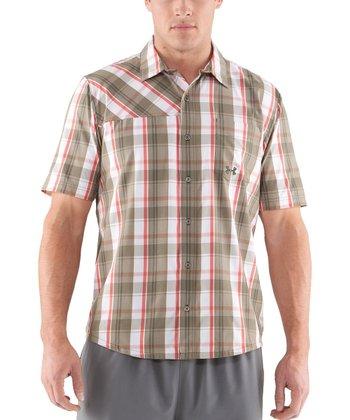 Drab Range Plaid Button-Up - Men & Tall