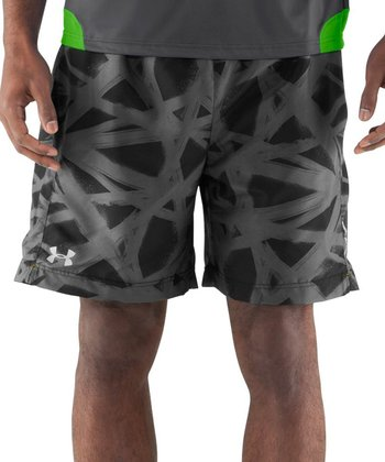 Black Escape 7'' Woven Shorts - Men & Tall
