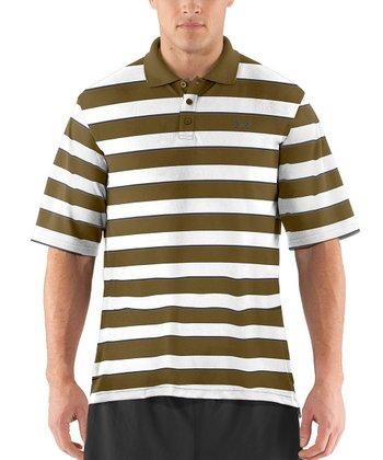 Drab Strength Stripe Polo - Men & Tall