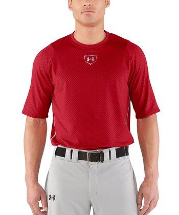 Red Diamond Armour™ Baseball Short-Sleeve Top - Men & Tall