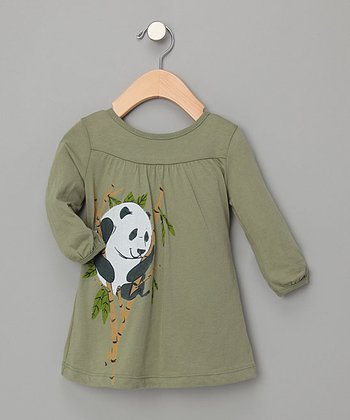 Panda Play Dress - Infant