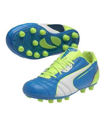 Brilliant Blue Universal FG Soccer Cleat