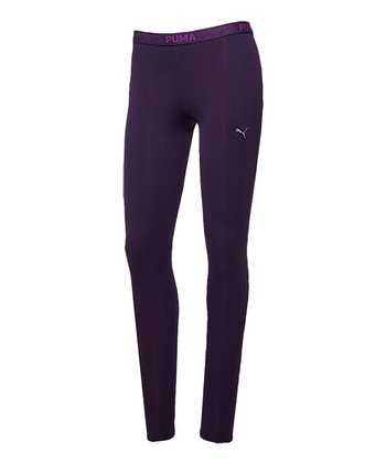 Blackberry Cordial Performance Bodywear Tech ACTV Long Tights