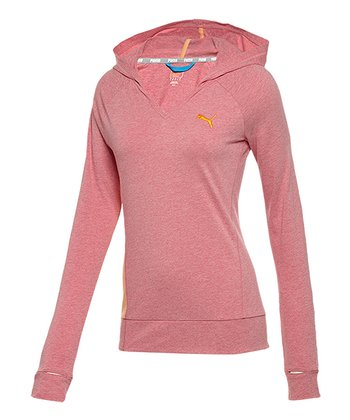 Virtual Pink Heather Favorite Hooded Cover-Up