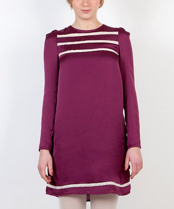 Purple Tunica Pollitos Dress