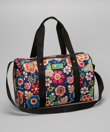 Lily Bloom Navy Floral LilyZen Weekender