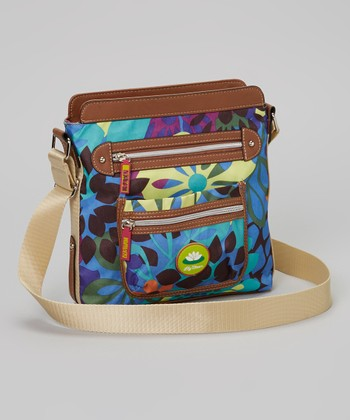 Lily Bloom Blue Bella Crossbody Bag
