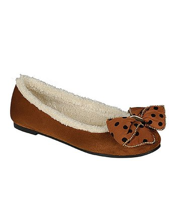 Brown Misty Slipper